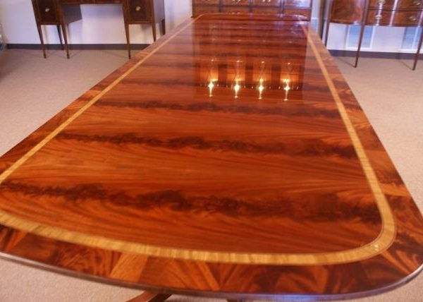 table american large mahogany dining table table 13 long ft retail