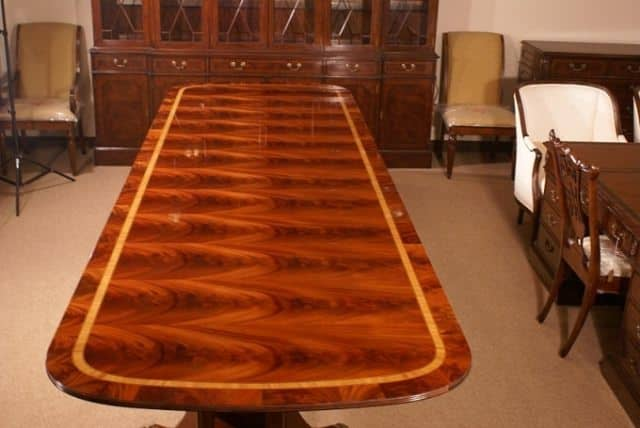 ft dining table american large dining table large mahogany dining