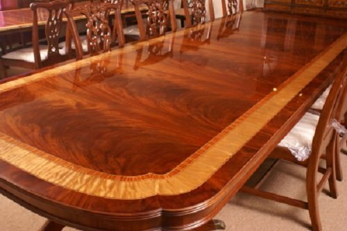 Floor Sample Leighton Hall Mahogany Conference Table FT Long - 5 ft conference table