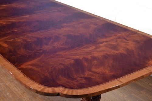 Large American Made Mahogany Dining Conference Table 11 ft. Long $11,000 Rtl