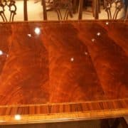 Floor Sample, American Crafted Large Dining Table, 14 ft. Long Retail $14,000