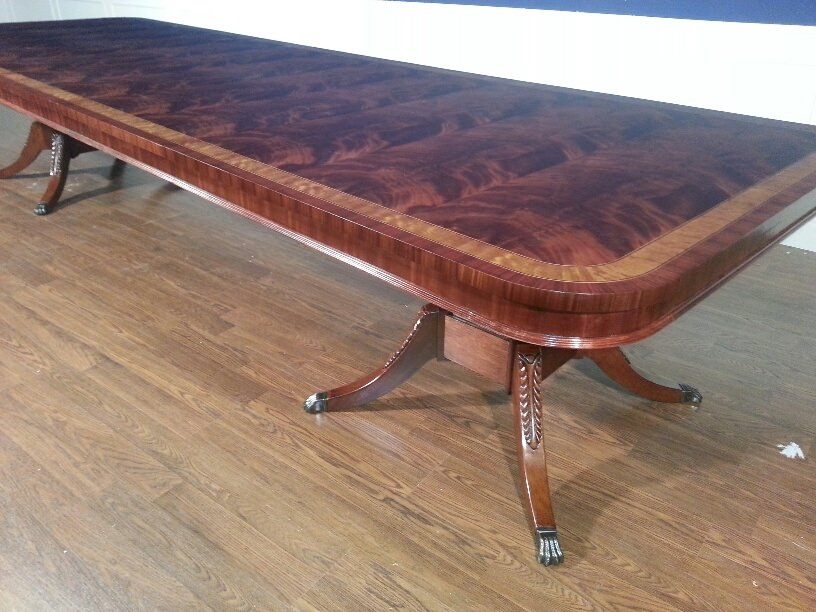 Beau American Made Flaming Mahogany Conference Table, Over 13 Ft. Long $15000  Retail