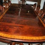 American Made Mahogany Dining Table, 10 ft. Long  $10,000