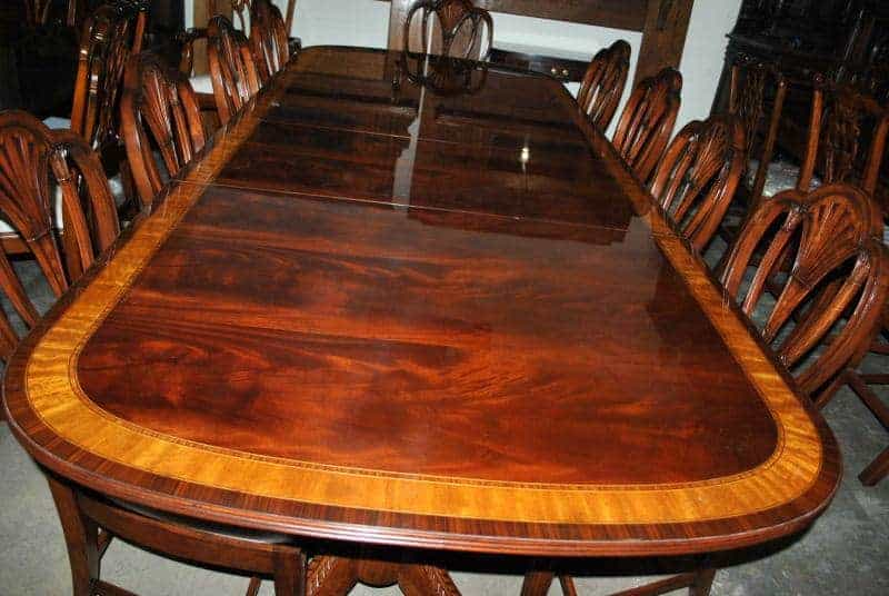 dining table 10ft dining table 10ft leighton hall mahogany dining