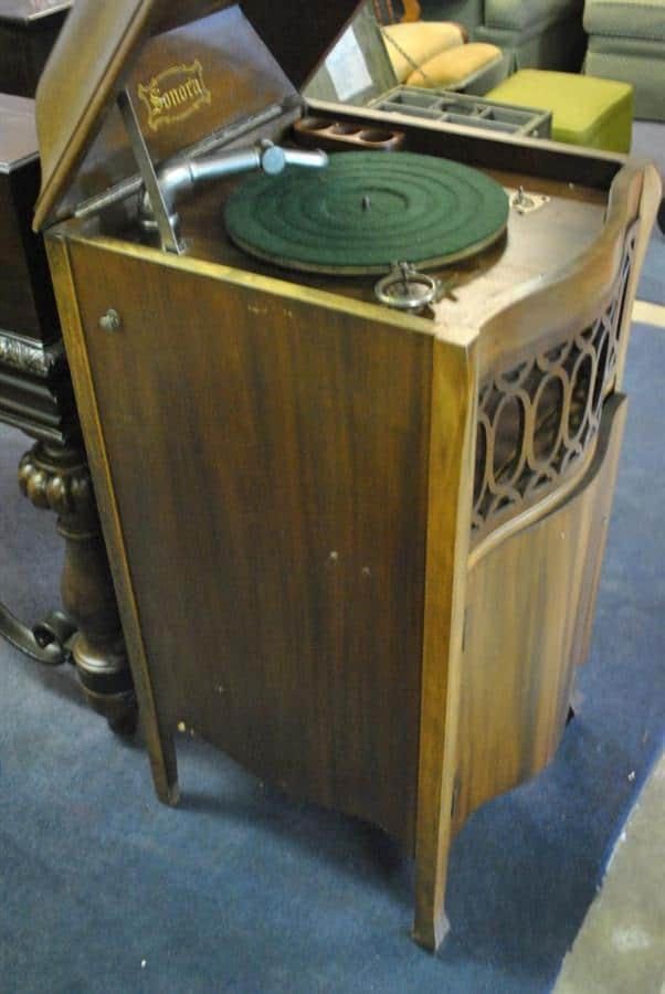 Antique 1924 Sonora Baby Grand Victrola  Serial # 150548
