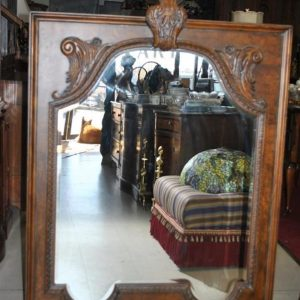 """Unused, Drexel Heritage Carved Wood Mirror 43""""W x 53""""H MSRP $600"""