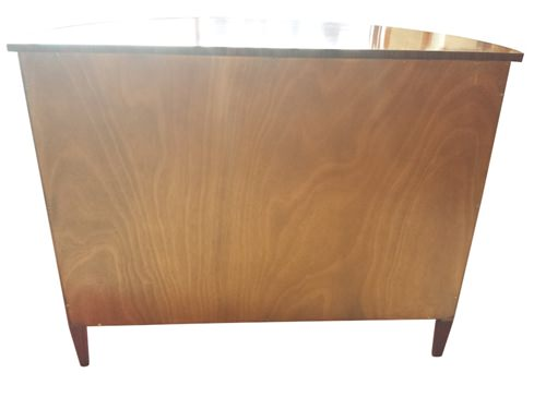 "Floor Sample, Leighton Hall, Mahogany, Demilune Chest, Cabinet, 21""D x 45""W x 36""H Retails $4000"