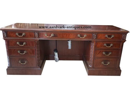 "Floor Sample, Leighton Hall, Mahogany, Executive Credenza, 20""D x 72""W x 30""H, Retail $7,000"