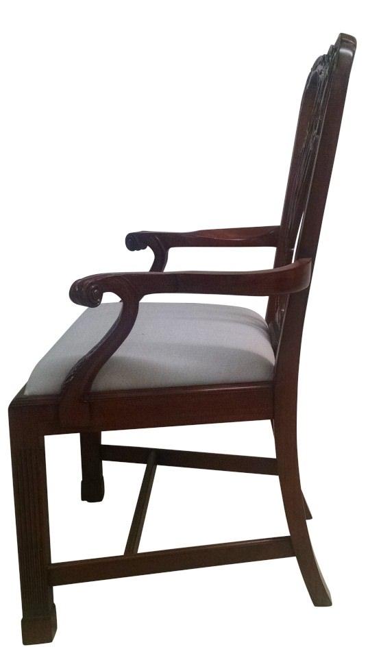 Leighton Hall Marlborough Mahogany Fine Dining Chairs