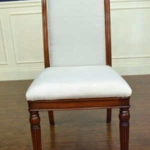 "Floor Sample, Leighton Hall ""Regency"" Mahogany Fine Dining Side Chair"
