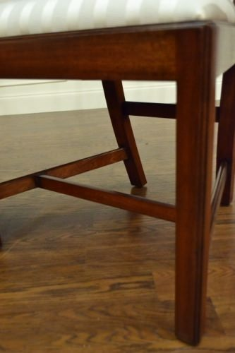 "Floor Sample, Leighton Hall Chippendale Style ""Charles"" Mahogany Fine Dining Armchair"