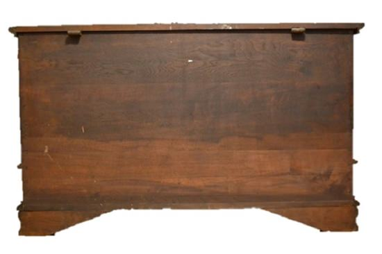 Antique Queen Anne Blanket Chest, Pennsylvania, Circa 1741, Rare! 24