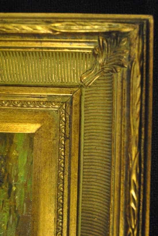 Gold Gilt Framed Oil on Canvas