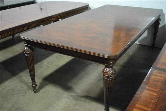 Showroom Sample Mahogany Heckman Conference Table FT Long - 7 foot conference table