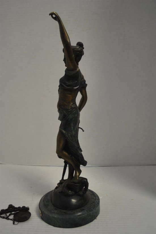 Bronze Blind Justice By Mayer, Blind Lady Scales of ...