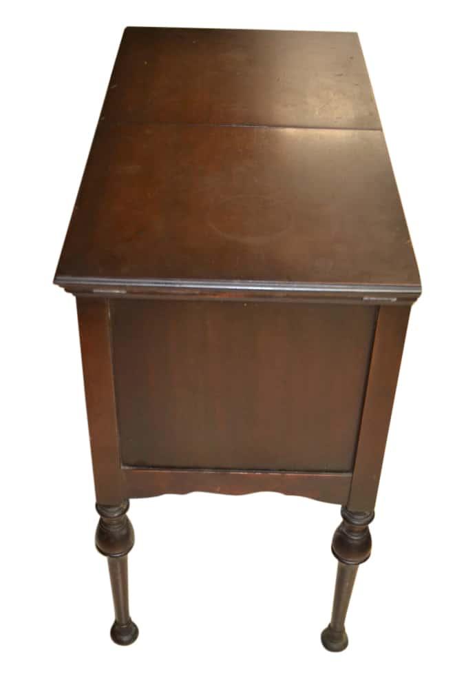 Antique Mahogany Flip Top Bar, Antique Server, Antique. Mahogany, Bar, Flip  Top, Mahogany Server, Server