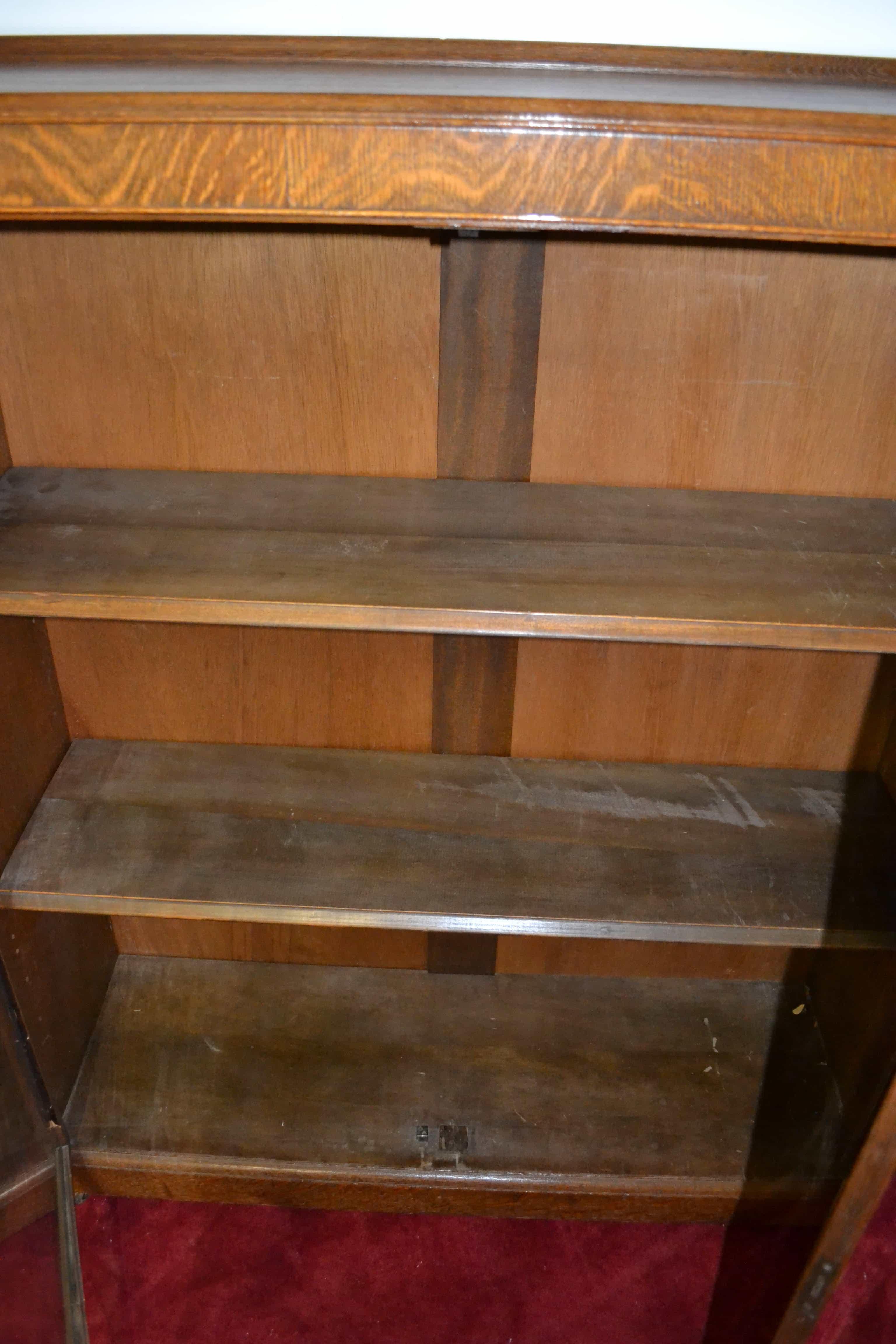 Antique Bookcase, Antique China Cabinet, Antique Curio Cabinet, Antique Oak  China Cabinet, Antique Oak Curio Cabinet, Bookcase, China Cabinet, Curio  Cabinet ...