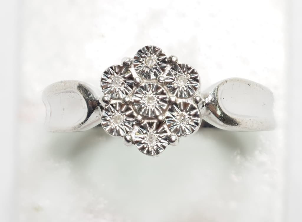 sterling silver 7 ring value 300 pa4874