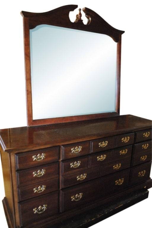 Antique Cherry Wood Dresser With Mirror Ideas