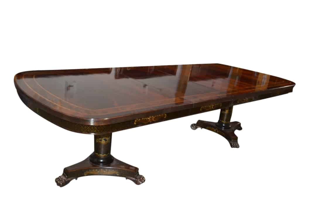 Black And Gold, Chinoiserie, Dining Table, Maitland Smith, Maitland Smith  Dining Table, Matiland Smith Table, Table