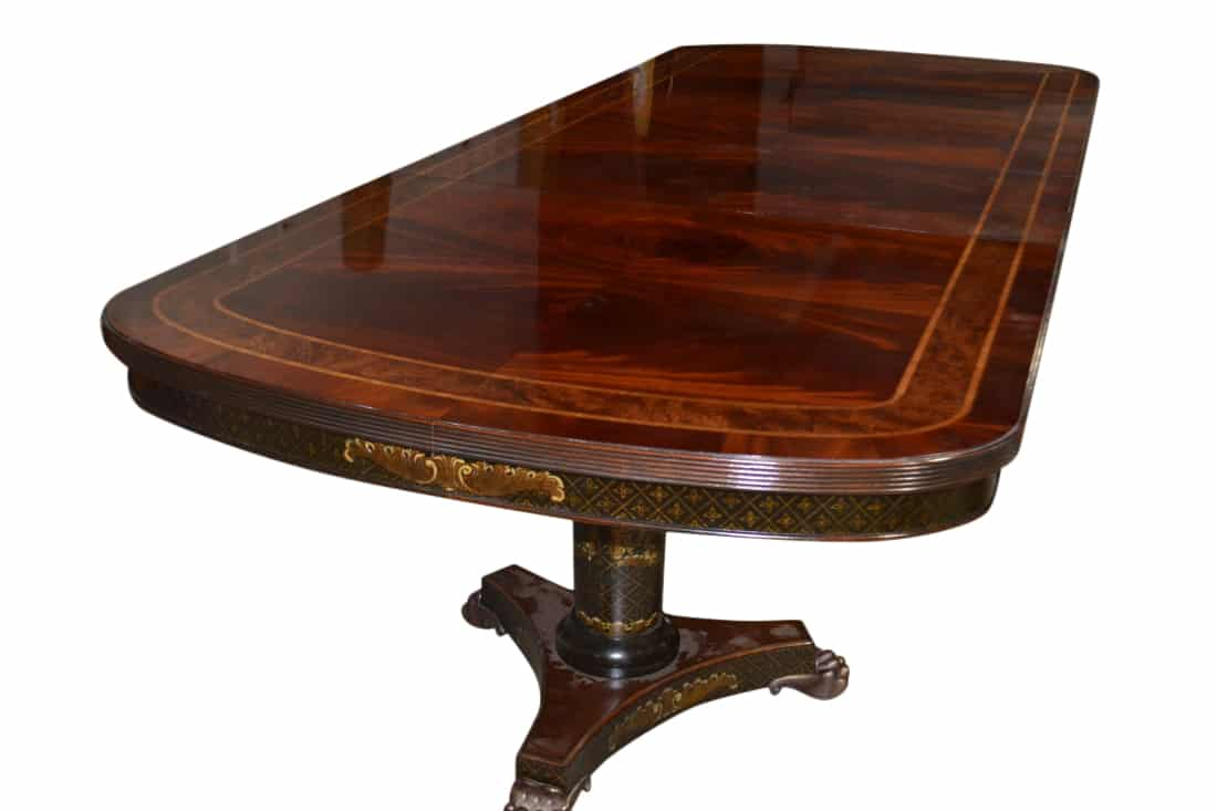 New, Showroom Sample Maitland Smith Conference Table, Chinoiserie, 9FT,  PA5009 C   Aardvark Antiques